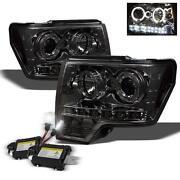 Ford F150 Smoked Headlights