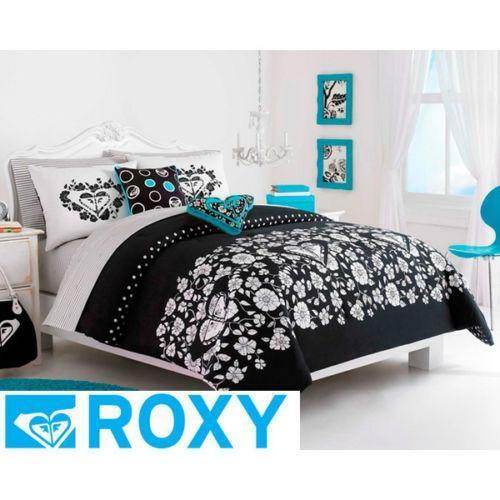 Black and white twin xl bedding ebay