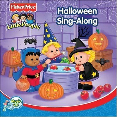 By Little People On Audio CD Album 2005 Brand New (Halloween-sing Alongs)