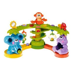 Fisher Price Go Baby Go Crawl and Cruise Musical Jungle