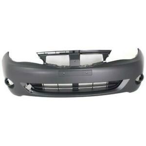 2008-2011 Subaru Impreza Bumper Front Primed Without Lower Lip With Round Fog (Impreza/Wrx)