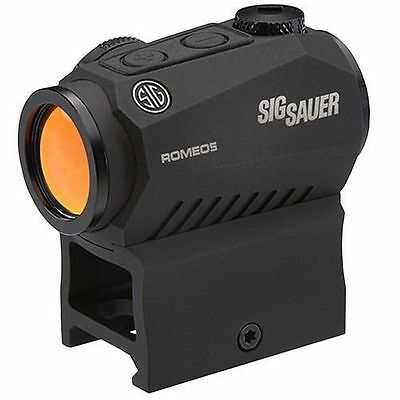 New Sig Sauer Romeo 5 Compact Red Dot Sight 1x20mm, 2 MOA Reticle SOR52001
