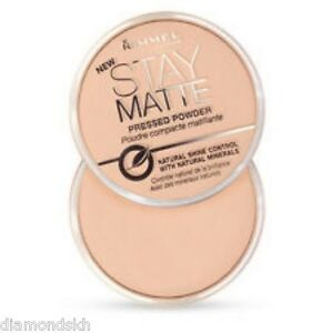 RIMMEL stay matte long lasting pressed powder in 001 transparent - 14g