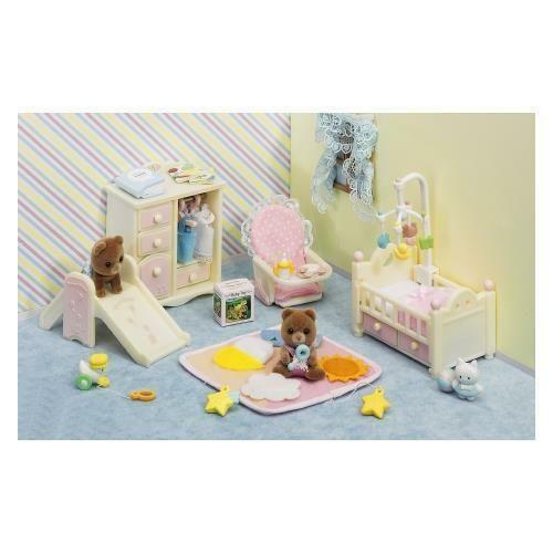 Calico Critters Bedroom: Calico Critters Bedroom: Preschool Toys & Pretend Play
