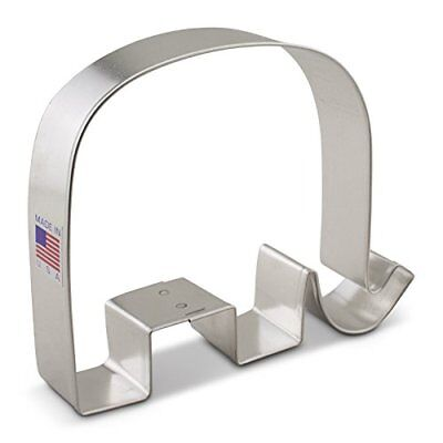 Elephant GOP Republican Cookie Cutter - 4.4-inches - Ann Clark Tin Plated Steel