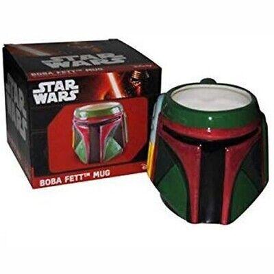 Star Wars Boba Fett 3D Character Mug [Mandalorian]