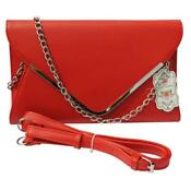 Large Red Clutch Bag