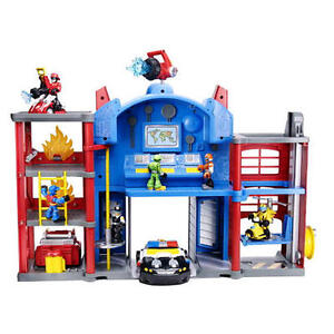 Playskool Heroes Transformers Rescue Bots Electronic Fire Station Prime Pla