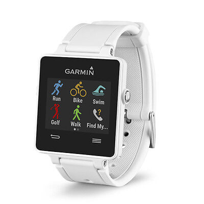 Garmin Vivoactive White Touchscreen Gps Enabled Sports Watch