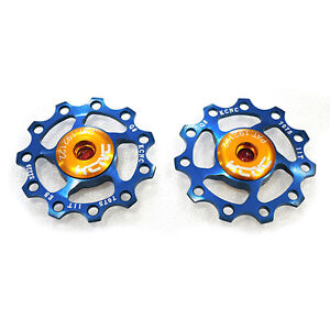 KCNC-AL7075-Jockey-Wheels-Rear-Derailleur-Pulley-11T-Blue