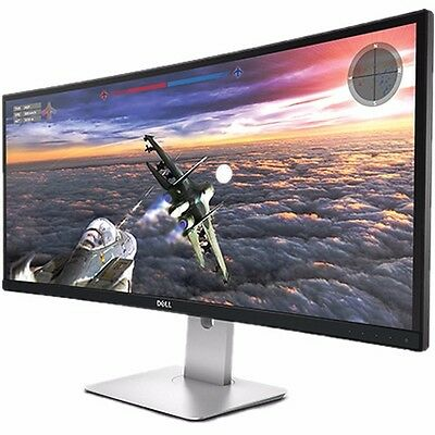 شاشة ليد جديد Dell U3415W UltraSharp 34 Curved Ultrawide IPS Monitor QHD 3440 x 1440 HDMI DP