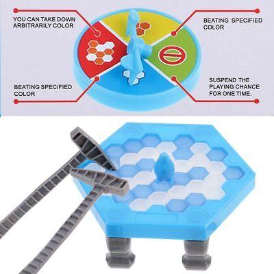 Child Penguin Trap Icebreaker Puzzle Desktop Knock Ice Block Family Party Supply