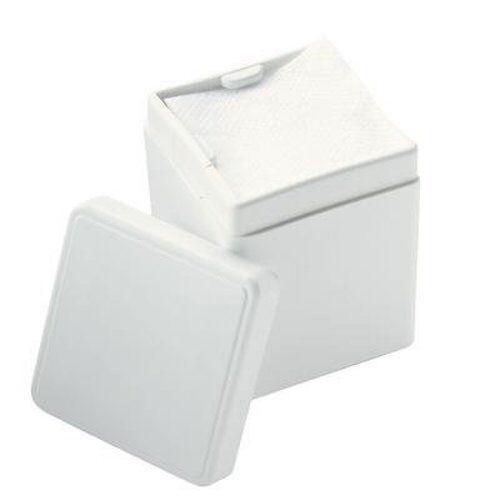 (White) Dental/Medical 2 X 2 Gauze Spring Loaded Sponge Dispenser (2 dispensers)