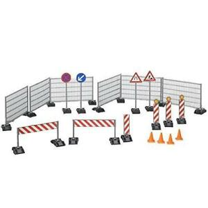 Bruder Construction Set: Railings, Site Signs and Pylons
