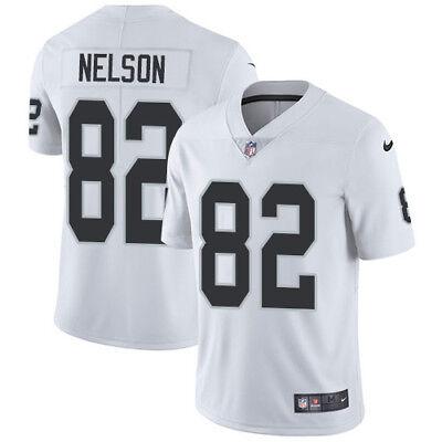 NELSON camiseta de la NFL Raiders color blanca.Tallas ,3XL.