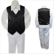 Boys Tuxedo Vest