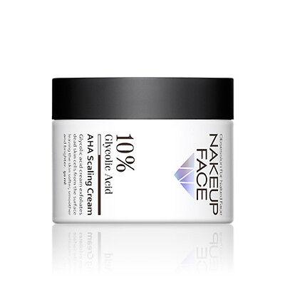 [NAKEUP FACE] 10% Glycolic Acid AHA Scaling Cream 50ml