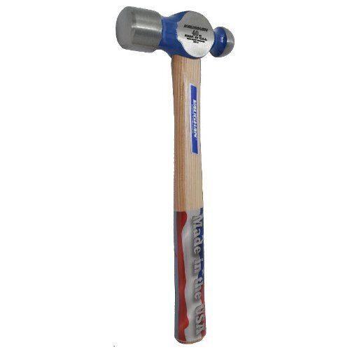 "Vaughan TC640 40 oz. Ball Pein Hammer (16"" Hickory Handle)"