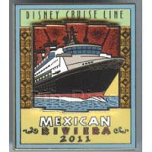 Disney Pin - DCL - Disney Cruise Line -  Mexican Riviera 2011