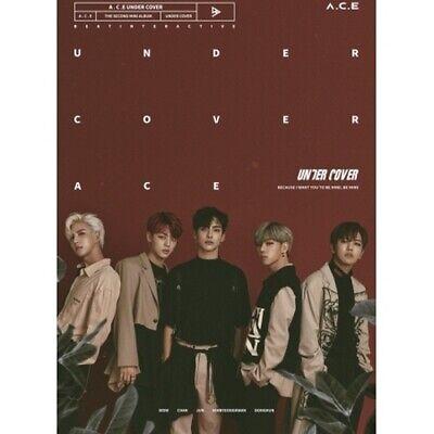 A.C.E-[Under Cover] 2nd Mini Album CD+Poster+PhotoCard+4Cut PhotoSticker K-POP