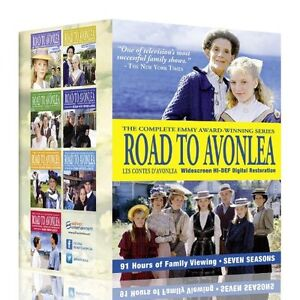 NEW Road to Avonlea-the Complete Series Coll (DVD)