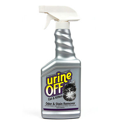 Urine Off Odor & Stain Remover Spray for Cats & Kittens (500 mL)