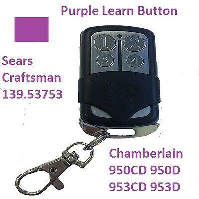 LiftMaster Garage Door Opener Remote Control Part Mini Purple Learn Button