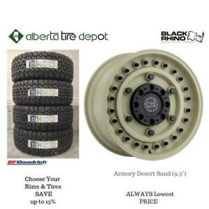 OPEN 7 DAYS LOWEST PRICE Save Up To 10% Black Rhino Armory DESERT SAND 9.5. Alberta Tire Depot.