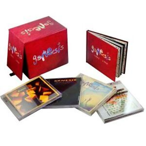 Genesis-1983-1998-Collection-Box-Set-Genesis-5-CD-5-DVD-Box-Set-W-Bonus-Book