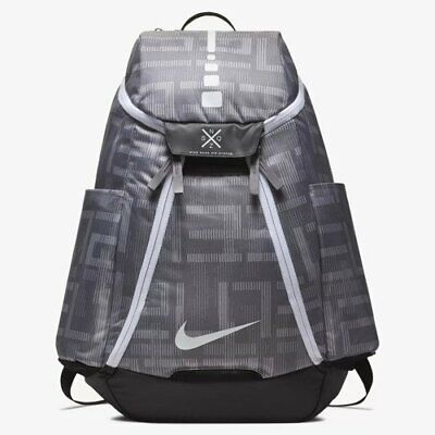 Unisex Nike Hoops Elite Max Air 2.0 Backpack BA5260-036 Grey/White NEW