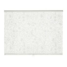 Roller kitchen blind, Ikea Liselott, white, Exeter