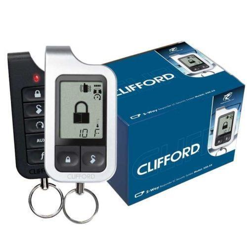 clifford car alarm system ebay. Black Bedroom Furniture Sets. Home Design Ideas