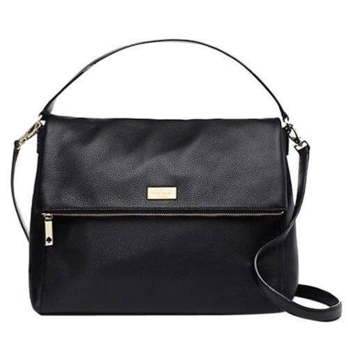 Kate Spade Bag WKRU2916 Highland Place Medium Maria Black Agsbeagle