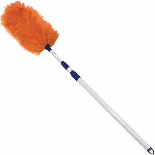 "Impact Lambswool Duster, 33-60"" Extension Handle, White (IMP3106)"