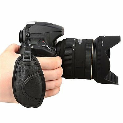 Leather Hand Grip Strap For Nikon D5000 D5100 D7000 D90 Useful Accessories LW