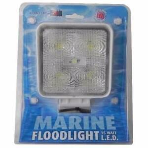 Perfect Image Marine/Automotive Spot Light 15 WATT -Square- Highett Bayside Area Preview