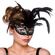 Masquerade Ball Masks Feather