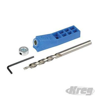 Kreg Mini Kit Pocket Hole Jig New MKJKIT 635709 From Chronos