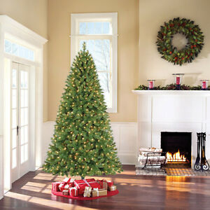 Holiday Time Pre-Lit 7.5' Kennedy Fir Artificial Christmas Tree