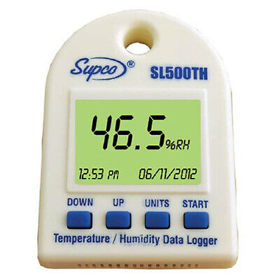 Supco Sl500th Temperature And Humidity Data Logger With Display