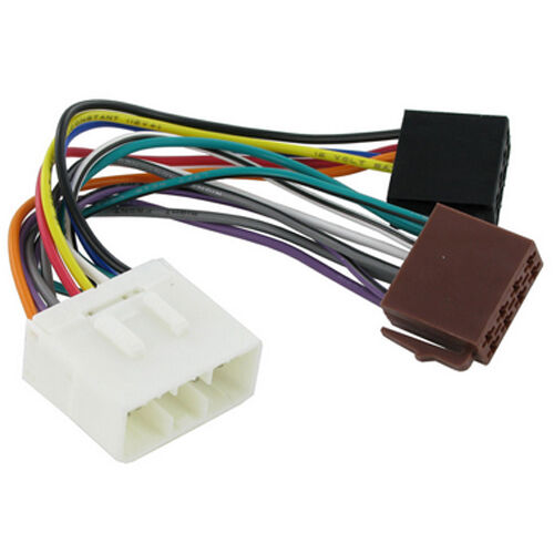 CT20HY01 FITS HYUNDAI H1 1996 to 1998 WHITE 14 PIN CONNECTOR ISO HARNESS ADAPTER