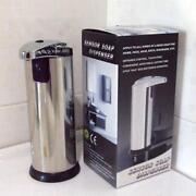 Silver Soap Dispenser