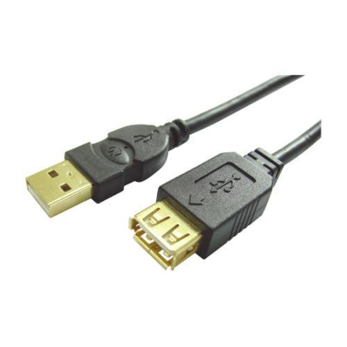 Nikkai Pure Connectivity USB 2.0 A Male to A Female