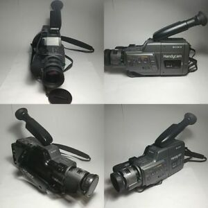 Sony CCD-F36 Handycam Video 8 NTSC Camcorder With Accessories