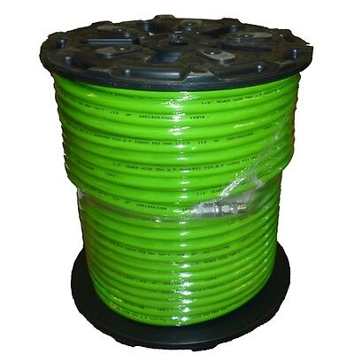 12 X 500 Sewer Jetter Hose 4000 Psi Green Solxswv