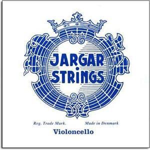 Jargar 4/4 Cello A String: Medium - Alloy Wound Steel