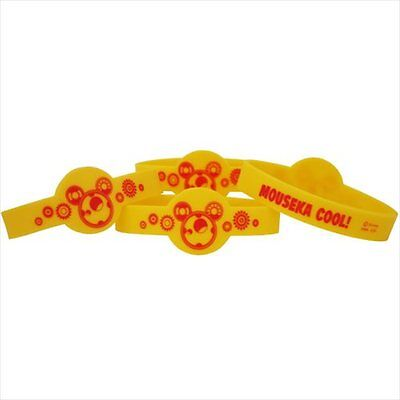 MICKEY MOUSE Fun and Friends WRISTBANDS (4) ~ Birthday Party Supplies Favors Toy (Mickey Mouse And Friends Birthday Party Supplies)