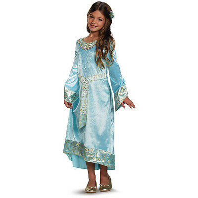 Maleficent Movie Costumes (Maleficent Movie Aurora Child Halloween Costume S)