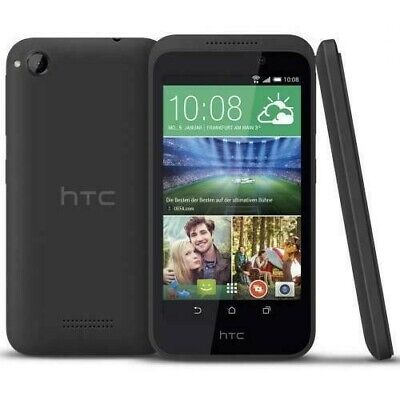 Used HTC Desire 320 8GB Black (Factory Unlocked) GSM Android Touch Smartphone