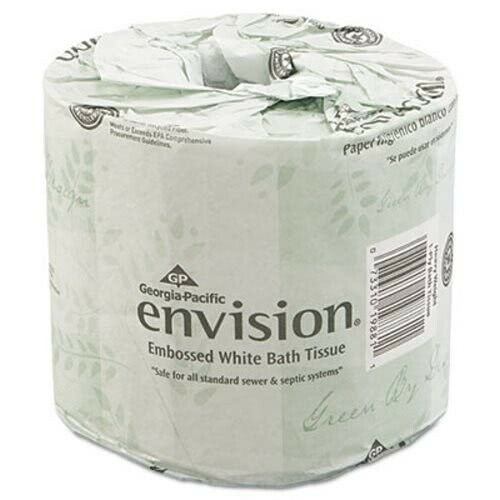 Envision Standard 2-Ply Toilet Paper Rolls, 80 Rolls (GPC 198-80/01)